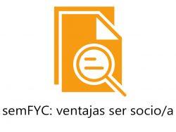 semFYC: ventajas ser socio PDF